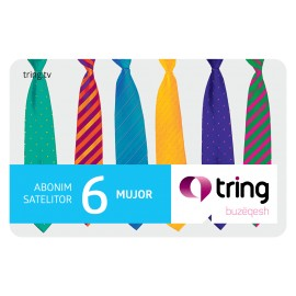 6 MONTHS SATELLITE TRING SUBSCRIPTION