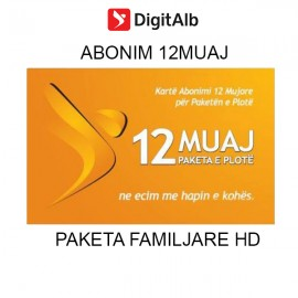 Family Satellite DIGITALB 12 Months Subscription